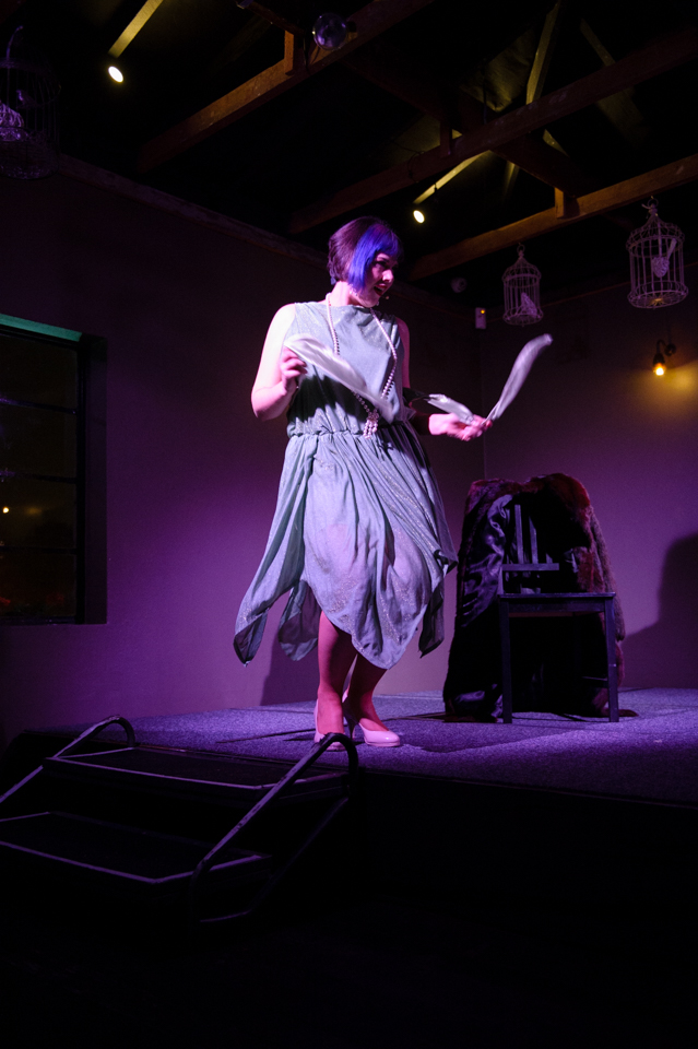 Ivy Ambrosia - photo from Sass and Tease at the Loft - June
