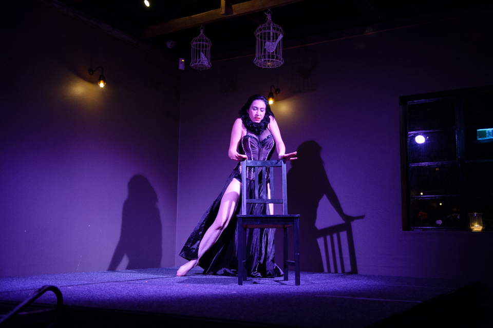 Simona Lisa - photo from Sass and Tease at the Loft - June