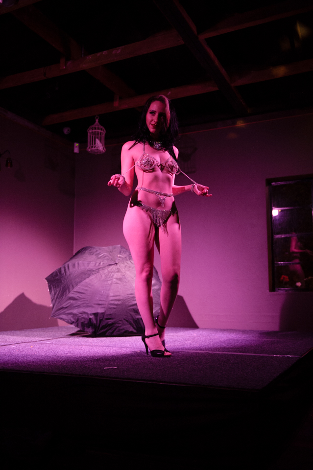 Memphis Mae - photo from Sass and Tease at the Loft - June